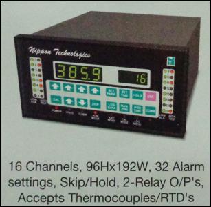Temperature Scanner 16 Channel