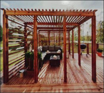 Wooden Pergolas In New Delhi Delhi India Anika Global Trading