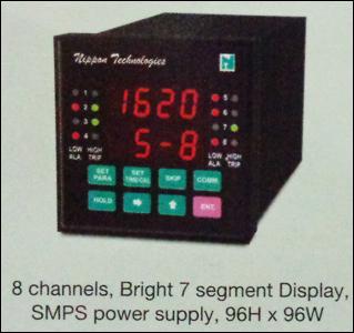 Bright 7 Segment Display Process Scanner