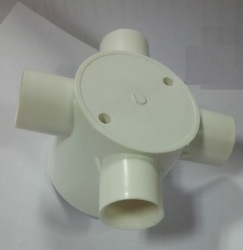 PVC Junction Box Four way