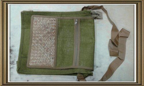 Designer Jute Bag - Calcutta Sale Syndicate, 14/2, Old China