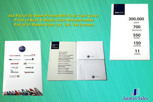 Four Color Printing Die Shape Pads