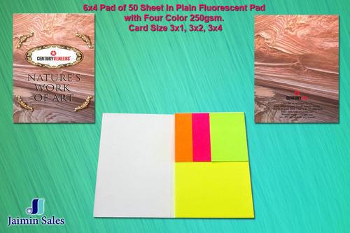 Plain Fluorescent Pad