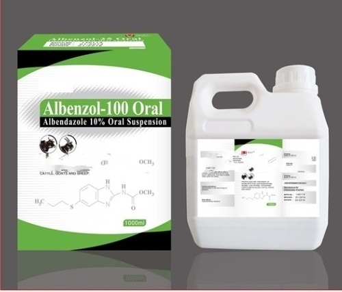 Albendazole 10% Oral Suspension