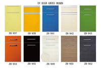 Modern Customized High Glossy Lacqure Kitchen Cabinet Doors