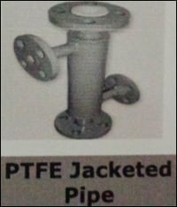 PTFE Jacketed Pipe