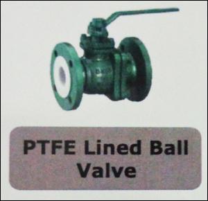 PTFE Lined Ball Valve