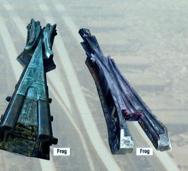 High Manganese Steel Frog For Railway Turnout
