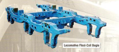 Locomotive Flexi Coil Bogie Frames