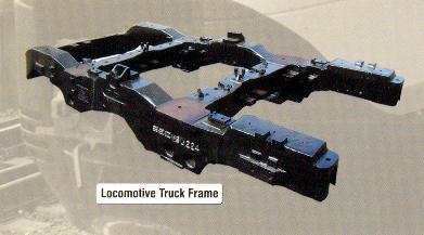 Locomotive Truck Frames