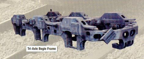 Tri Axle Bogie Frames