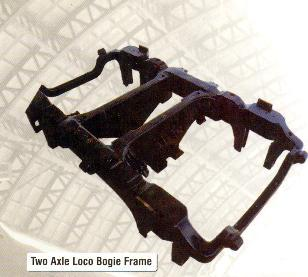 Two Axle Loco Bogie Frames