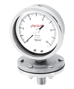 PGSD : Schaeffer Diaphragm Type Pressure Gauge