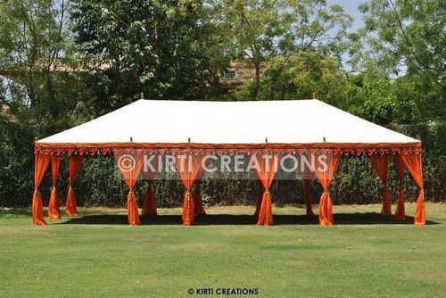 Colored Maharaja Tent