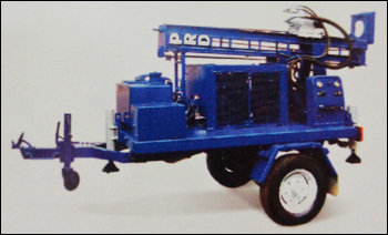 Dth Cum Rotary Drilling Rig (500)