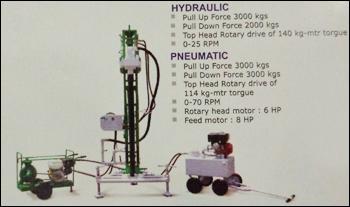 Pneumatic Portable Drilling Rig