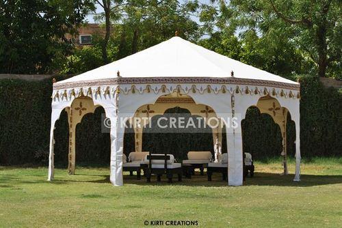 White C Ottoman Tent
