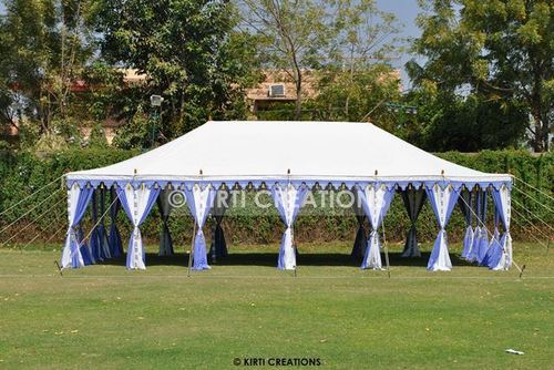 White Maharaja Tent
