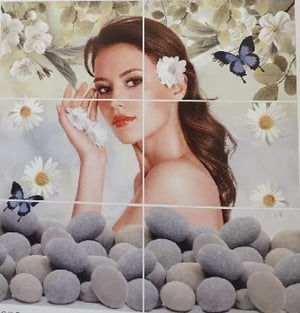 Ladies Picture Wall Tiles