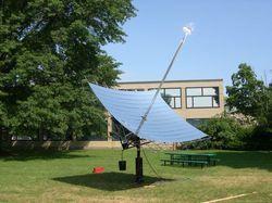 Solar Parabolic Concentrator in  Cherlapally