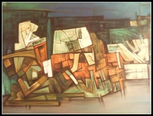 Abstract Painting (Modern Art)