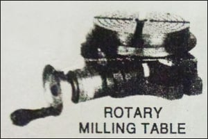 Rotary Milling Table
