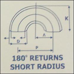 180° Return Short Radius