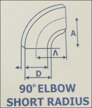 90° Elbow Short Radius