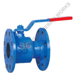 Single Piece Flanged End Ball Valves