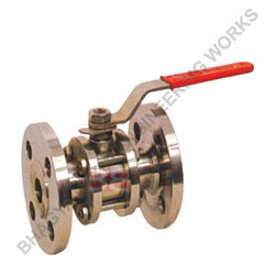 Three Piece Flanged End Ball Valves