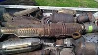 Catalytic Converter And Exhaust Manifold Scrap
