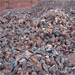 Iron Ore Lumps in   Light Industrial Area