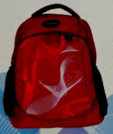 Red Backpack Bag (BP 100)