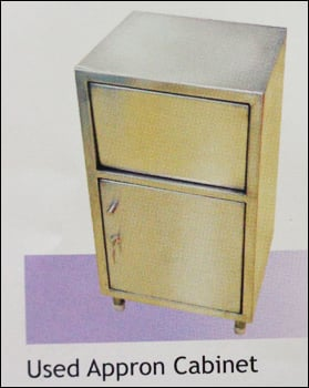 Stainless Steel Used Apron Cabinet