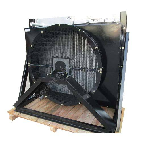Radiator With Hydraulic Oil Cooler And Compressor Oil Cooler Assembly For Drill Rig