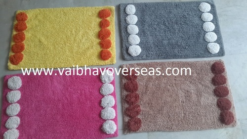 Cotton Tufted Bath Rugs in  29-Sector