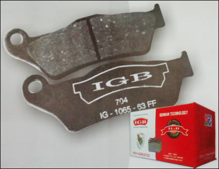 Two Wheeler Brake Pad - Manufacturers & Suppliers, Dealers