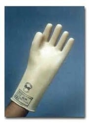Electric Shock-Proof Rubber Hand Gloves