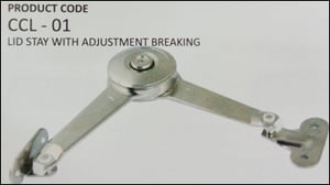 Lid Stay With Adjustment Breaking Cabinet Lifter