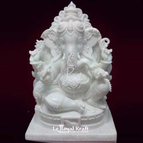 White Marble Ganesh Idol At Best Price In Chennai Tamil Nadu Le