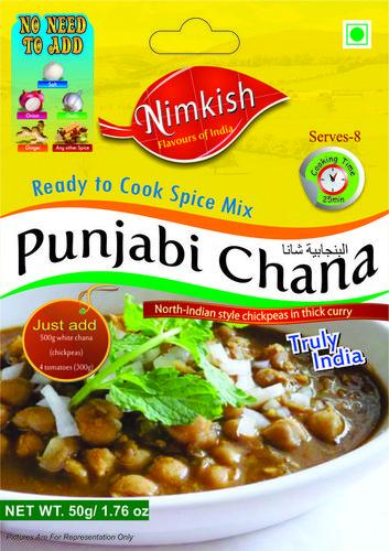 Punjabi Chana Masala in   Tehsil-Bhuntar