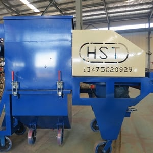 HST Mobile Road Surface And Concrete Pavement Shot Blasting Machine