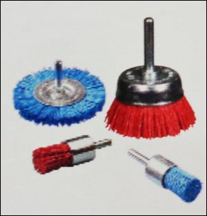 Abrasive Filament Brush With Shank