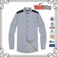 Polyester Flannel Mens Shirt