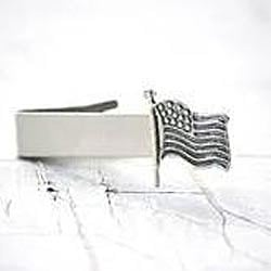 Silver Plated Tie Pins
