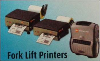 Fork Lift Mobile Barcode Printer