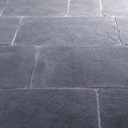 Jet Black Vinyl Flooring Stone