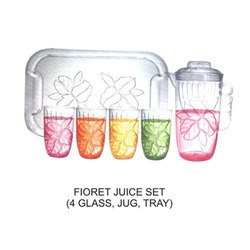 Plastic Household Juice Set