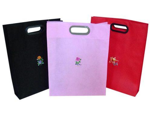 Multi Color Non Woven Vest Bags