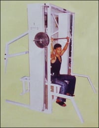Smith Machine With Adjustable Bench Press
